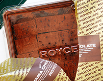 Royce chocolate shooting and styling