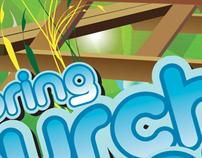 Davis Chinese Church Poster: Spring Picnic 2008