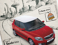ŠKODA Fabia - Reality overtakes fiction
