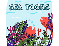 Sea Toons -Comic Strip about corals and marine life