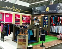 Stand Baby Phat - Yorkshire Polo Club - Intermoda 2015