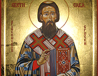 Ikona Sveti Sava