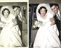 Restoration and Colorization for a client.