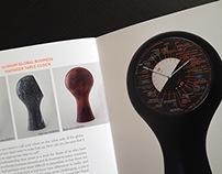 Dial Design Alshain Table Clock A. Manzoni & Fils 1888
