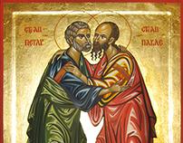 Ikona Sveti Apostoli Petar i Pavle