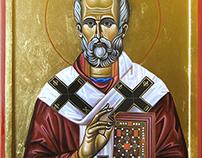 Ikona Sveti Otac Nikola