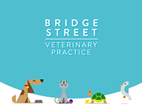 Bridge Street Veterinary Practice Identity