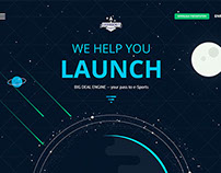 Easy Rocket Studio Promo Site