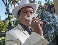 Hirochi Robaina for Cigar Aficionado Magazine