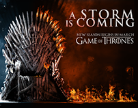 HBO Game of Thrones Online Ad Campaign