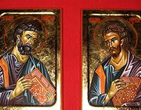 Ikona Sveti Apostol Marko, Ikona Sveti Apostol Luka