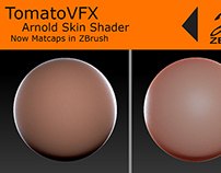 TomatoVFX - Arnold Skin shader