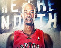 NBA: Toronto Raptors, 'True North' Poster Series