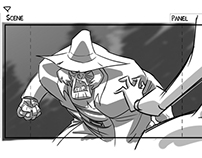 "Scooby Doo! Mystery Inc. Storyboards ""Grim Judgement"""