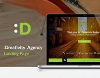 Dreativity Agency - Responsive Webdesign