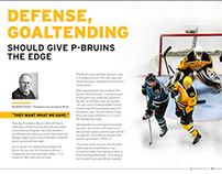 Providence Bruins Yearbook - Mark Divver Article