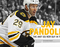 Providence Bruins Yearbook - Jay Pandolfo Article
