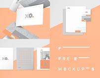 xo. Free mockups