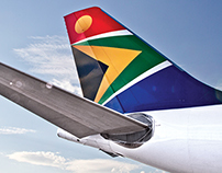 South African Airways rebrand - Assets development