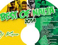 Best of Naija cd cover