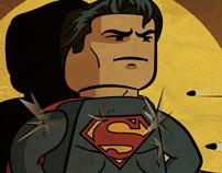 Lego Superman - The Man of Plastic
