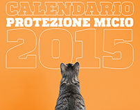 Calendario protezione micio 2015