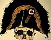 Crâne à Bicorne