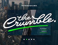 Crumble - Typeface