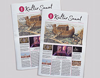Kültür Sanat Newspaper Design
