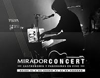Propuesta: Mirador Concert