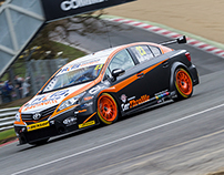Kieran Gallagher Racing // 2015 BTCC Race Car Livery