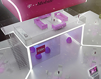 T-Mobile stand concept