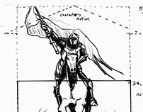 """The Messenger"" Storyboards"