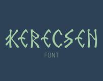 kerecsen font