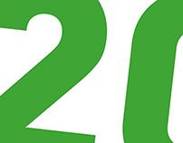 Logotipo conmemorativo del 20 Aniversario