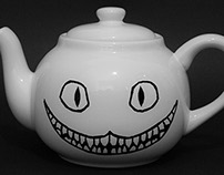 Cheshire Cat Teapot