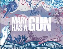 """Mary Has A Gun EP + Album cover """"AM"""" & """"PM"""""""