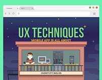 UX Design Techniques Graphically