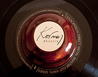 Korman Akustik Logo Design