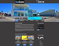 Practice Project | Real Estate Web Template