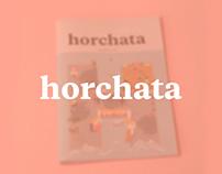 Horchata magazine #2 / Hand-lettering