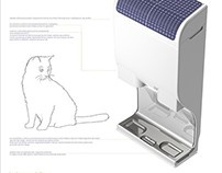 Cat's Meal - cat food providing device