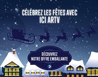 Microsite / Noël 2014 ICI ARTV