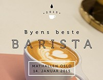 2015 Byens Beste Barista event manager and marketing