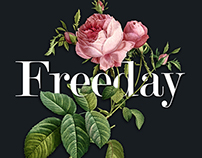Freeday / Type & illustration