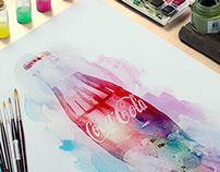 Coca-Cola / Christmas illustration