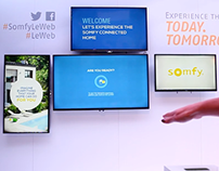 Somfy - Salon Le Web - Leap Motion