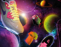 Layout My Planet Shoes