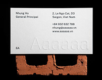 6A | Architecture Firm Identity