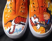 Kickin it with Calvin and Hobbes